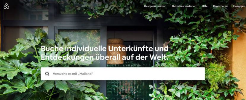 10 Alternativen zu Airbnb