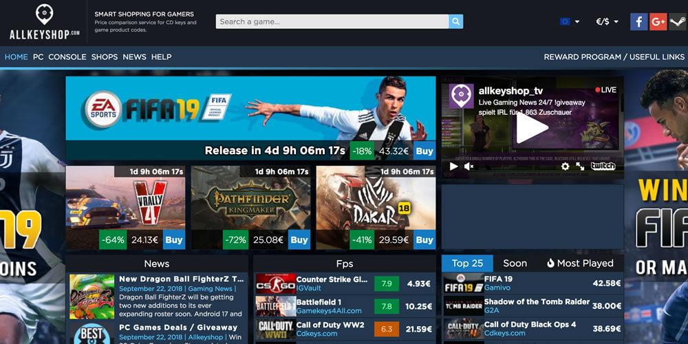 Kaufen Sie bei Allkeyshop Downloadcodes für XBox, PC oder Playstation.